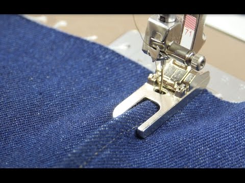 Tutorial: how to sew lapped and flat-felled seams with the BERNINA lap seam foot no. 70 and 71