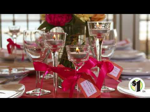 Long-Stem Glass Tealight Candleholders