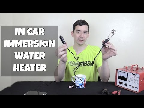 12V Car Immersion Heater for Tea, Coffee or Soup