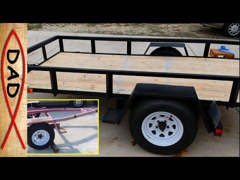 5x10 Utility Trailer Build - Part 1 of 4