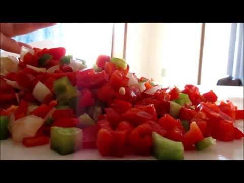 Freezing Bell Peppers and Onions for Future Use