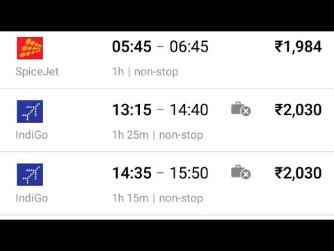 How to Book cheap Flight tickets (Sasti Air ticket kese book Kare) Hindi tutorial