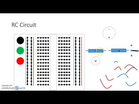 RC Circuit with an Off Board Switch