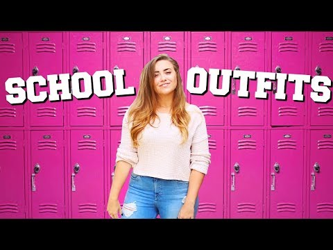 Back to School Outfit Ideas + School Supply GIVEAWAY!