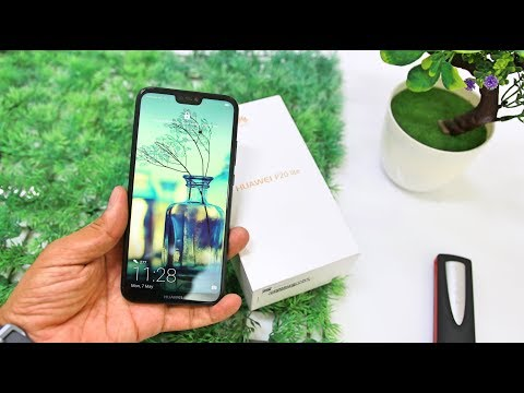 Huawei P20 Lite Smartphone Unboxing