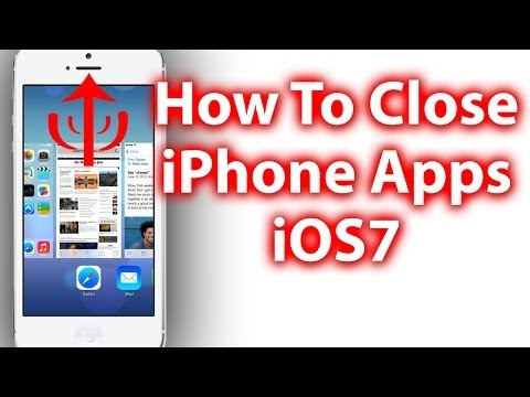 How To Close Apps In iOS 7 - iPhone, iPad iPod Touch