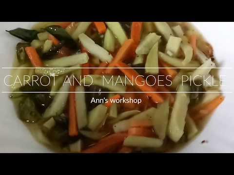 MANGO CARROT PICKLE /VELLA MANGA ACHAAR