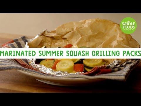Marinated Summer Squash Grilling Packs | Freshly Made | Whole Foods Market