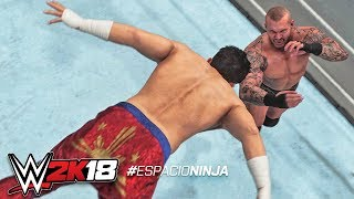 WWE 2K18 - All Catching Finishers (PS4 & XBOX ONE)