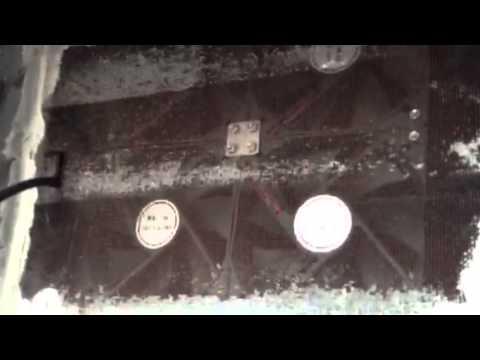 Solar powered gable attic fan install review DIY pt3