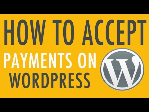 Accepting Payments on WordPress