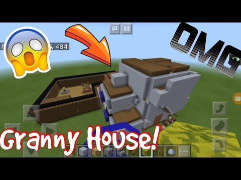 Minecraft PE - Granny House!😱