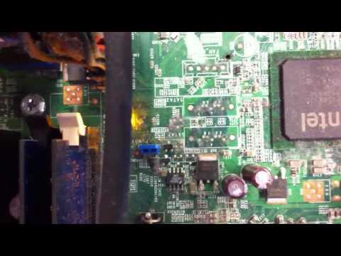Disable BIOS password on a Dell desktop
