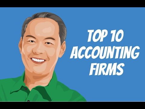 Top 10 Accounting Firms 💵