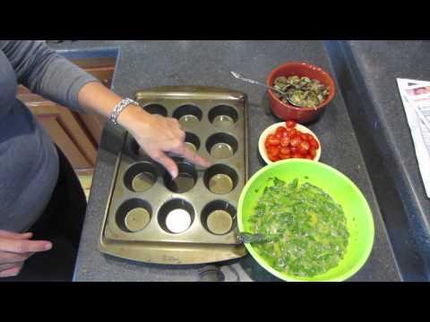 Egg & Veggie muffins- Healthy Low Calorie breakfast
