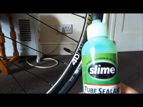 HOW TO PUT SLIME IN TO PRESTA VALVES