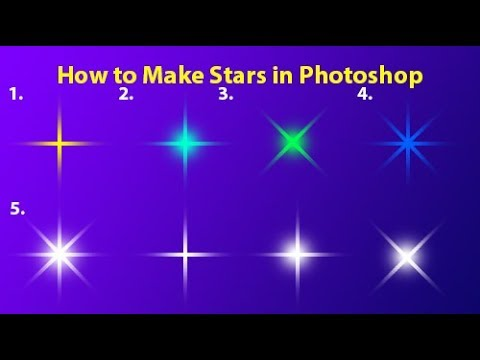 How To Make Star in Adobe Photoshop | Tutorial