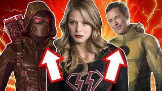 The Flash Season 4 Arrow Supergirl Crossover Promo Breakdown! - Meet the Earth-X Villains!