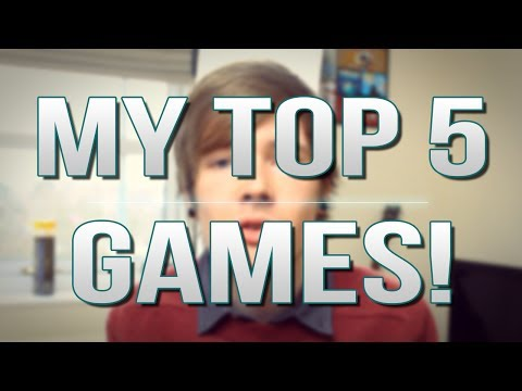 TDM Vlogs | MY TOP 5 GAMES! | Episode 23