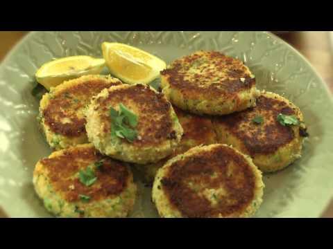Hot-smoked salmon fishcakes recipe