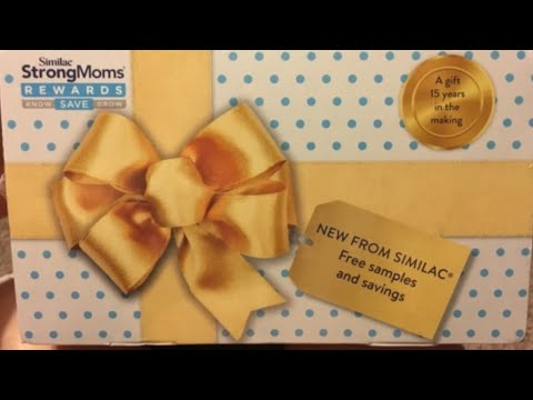 Similac Strong Mom's Reward Unboxing- FREE infant formula + $20 in coupons