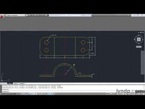 How to customize AutoCAD's ribbon and panels | lynda.com tutorial