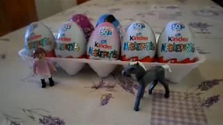 Kicsomi: 5 Kinder tojás - 4 fiús és 1 lányos