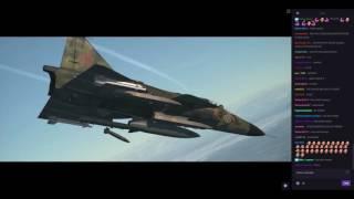 Test Flight - DCS: AJS-37 Viggen - Rb 05 Missile, P/O Mode Landing