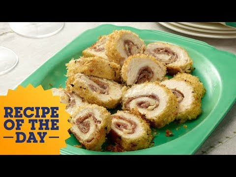 Recipe of the Day: Tyler's Foolproof Chicken Cordon Bleu | Food Network