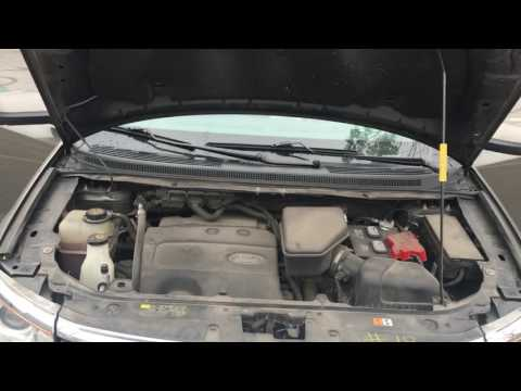 HOW TO ADD TRANSMISSION FLUID IN A FORD EDGE
