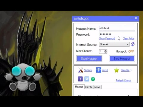 How to Create WiFi Hotspot in Windows 8.1