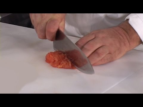 Peeled, Seeded and Diced Tomato