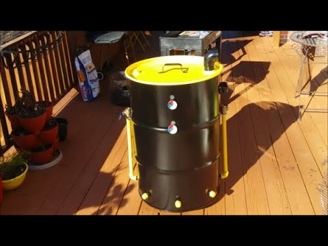 Meet My UDS (Ugly Drum Smoker) How to Make