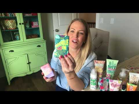 Unboxing our new Spring Perfectly Posh Line
