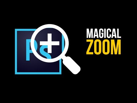 Photoshop Quick Tip: The Magical Zoom Key