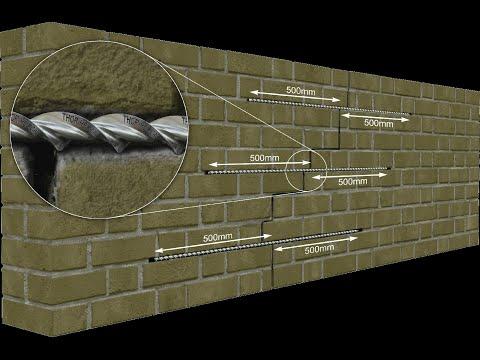 Crack Stitching Masonry Walls