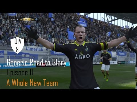 Generic road to glory ep 11 A Whole New Team