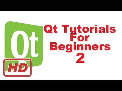 [QT tutorial for beginners] Qt Tutorials For Beginners 2 - How to Install Qt Creator IDE  (Open Sou