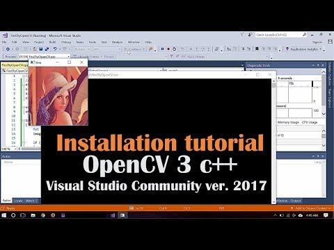 Tutorial Install OpenCV 3.3.0 in Visual Studio 2017 Community Version - Windows 10