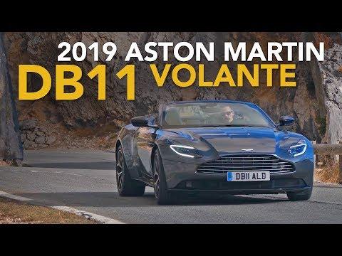 2019 Aston Martin DB11 Volante Review - First Drive