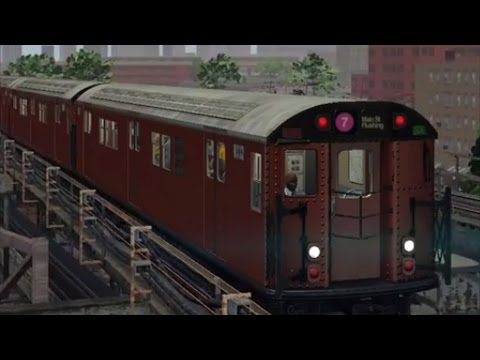 World of Subways 4 - Time Square to Main Street Gameplay HD