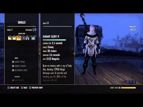 Eso - Templar guide - Full Magicka Tri build ( Tank, Dps, Healer )