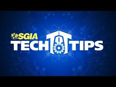 SGIA Tech Tips: Calculating Fabric Shrinkage