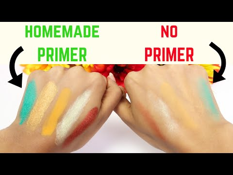 DIY Vegan Face & Eyeshadow PRIMER | All Natural Makeup | KalkSTAR  Naturals
