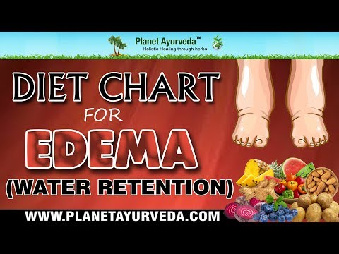 Diet Chart for Edema Or Water Retention (Fluid Retention)