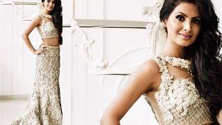 Geeta Basra chooses a vintage style wedding trousseau
