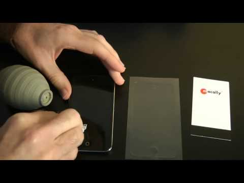 Macally Anti-Fingerprint Screen Protective Overlay Review for 4th Gen iPod touch