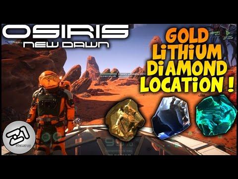 Osiris New Dawn Lithium Gold Diamond Location, Building Laboratory ! Z1 Gaming