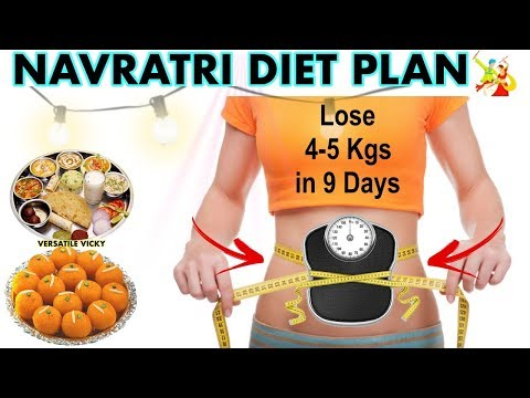 Navratri Diet Plan | How to Lose Weight Fast 5 Kgs in 9 Days