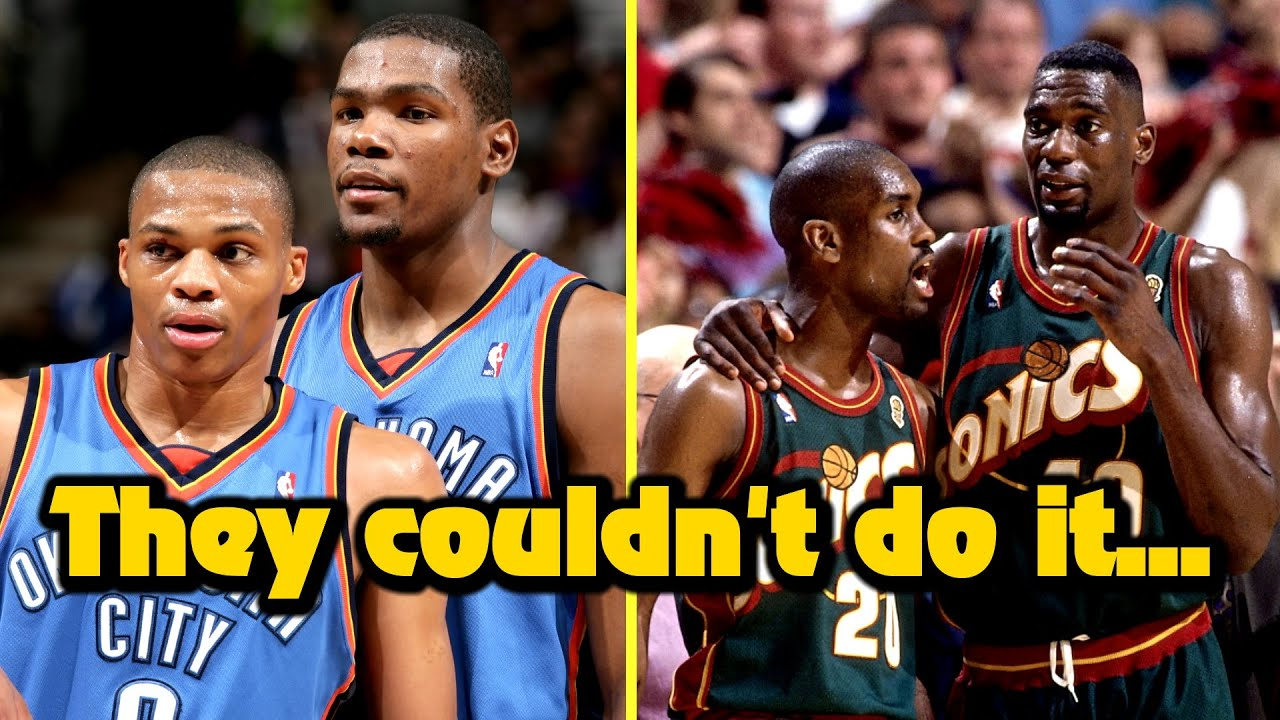 8 Greatest NBA Duos Who Could NOT Win The Title Together